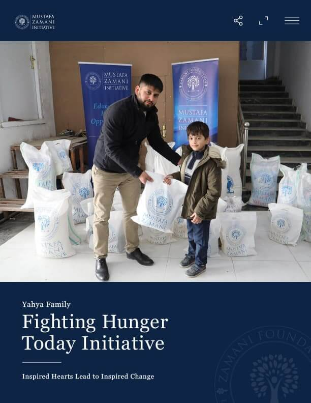 Yahya Family Fighting Hunger Today Initiative