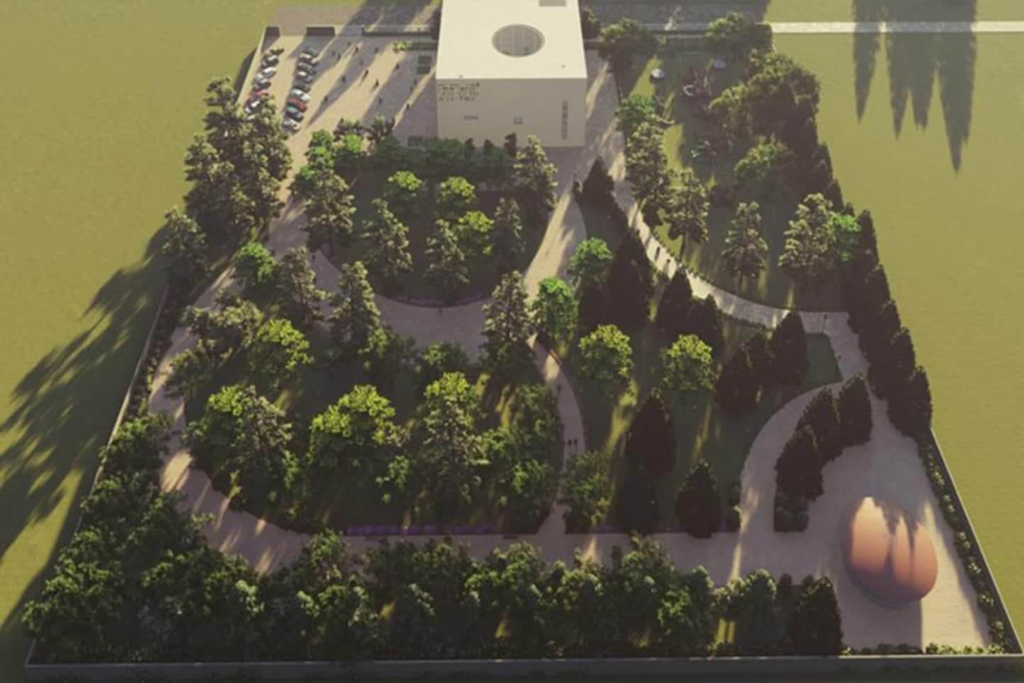 Mustafa Zamani Center Garden