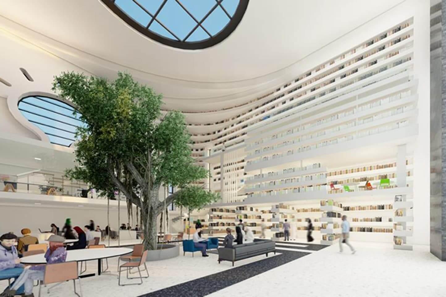 Mustafa Zamani Center Library