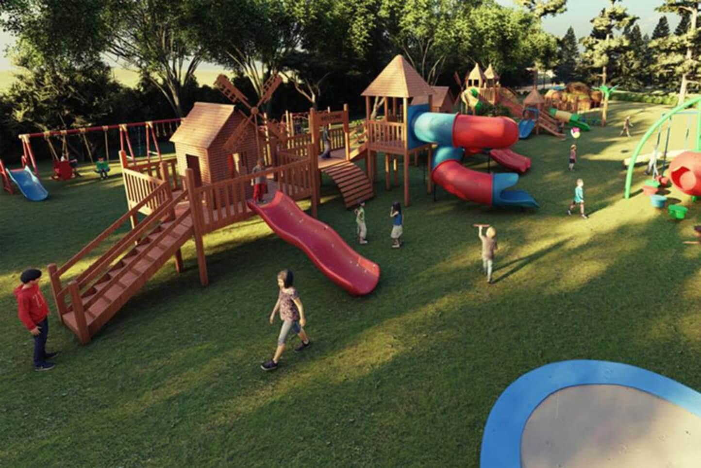 Mustafa Zamani Center Playground